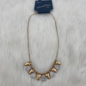 4/$20 Universal Thread Gold Geometric Necklace